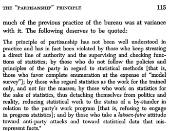 GLF--partisan in the statistical services